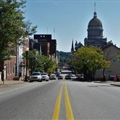 N.Main Street Business District - Greensburg