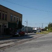 Windber Train Tracks